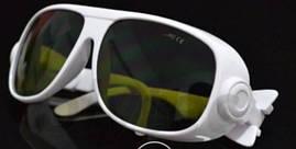 Очки защитные LSG-4 оправа 1 для лазера СО2 10600nm. O.D. 6+ (медицинского и промышленного), Ю. Корея