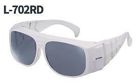 Очки защитные ОTOS 720RD 190 - 850 nm; O.D: 6+ , Ю.Корея
