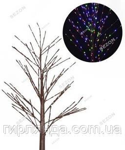 Дерево вуличне 225 LED 1,5м,   мульті