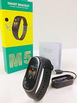 Фітнес-браслет Smart Band M5 Mi Band смарт-годинник Black, фото 3