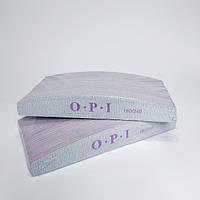 Пилка для ногтей лодочка 180/240 OPI 50шт - Пилки для натуральных ногтей - Пилка 180 240 - Пилочка opi