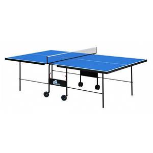 Теннисный стол складной Athletic Premium Синий Gk-3.18