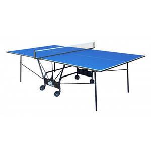Теннисный стол складной Compact Light Синий Gk-4