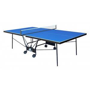 Теннисный стол складной Compact Premium Синий Gk-6