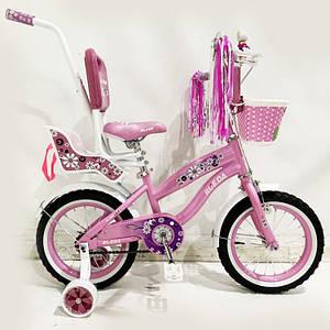 """Детский велосипед Flower Rueda 14"""""""