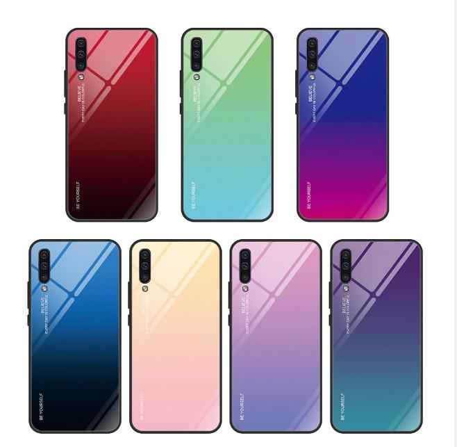 Чехол Gradient для Samsung A30S 2019 / A307F  (разные цвета)