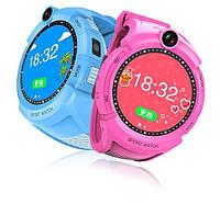 Умные часы Smart Baby Watch GW600 (Q360) Pink  GPS-часы с камерой, фото 4