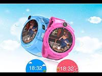 Умные часы Smart Baby Watch GW600 (Q360) Pink  GPS-часы с камерой, фото 5