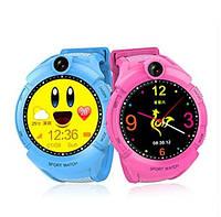 Умные часы Smart Baby Watch GW600 (Q360) Pink  GPS-часы с камерой, фото 6