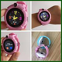 Умные часы Smart Baby Watch GW600 (Q360) Pink  GPS-часы с камерой, фото 7