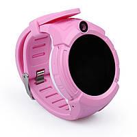 Умные часы Smart Baby Watch GW600 (Q360) Pink  GPS-часы с камерой, фото 8