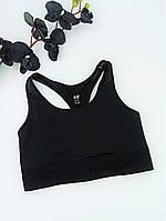 Топ спорт H&M Aclive Harmony без поролона плотный 2XL черный (08050111)