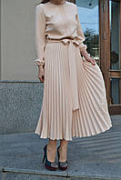 Платье плиссированное из плотной ткани, фото 1