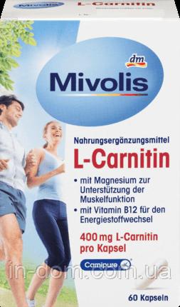 Das Gesunde Plus Mivolis L-Carnitin комплекс для спортсменов 60 шт