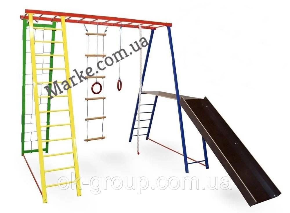 Детский спортивный комплекс Дисней Плюс размером 130+40*127*145см (ДхШхВ) ( спортивний комплекс )