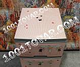 2 шт. Комод пластиковый Ротанг коричневый, 4 ящика, Алеана, фото 8