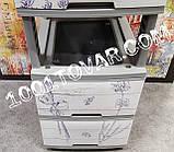 2 шт. Комод пластиковый Ротанг коричневый, 4 ящика, Алеана, фото 10