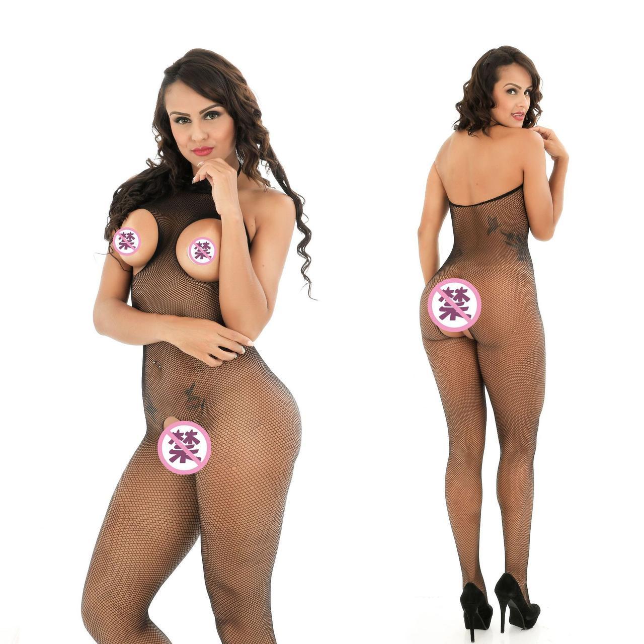 Эротическая боди-сетка в упаковке / сексуальное белье/ эротическое белье