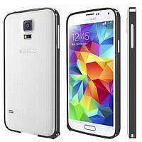 Бампер металлический Cross Case для Samsung G900H Galaxy S5 Black