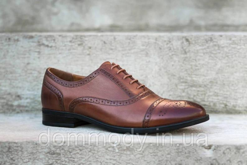 Туфли мужские из кожи Stylish age