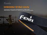 Пов'язка на голову Fenix AFH-10 помаранчева, фото 3