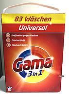 Пральний порошок Gama 3in1 5,395 кг ( 83 прання)