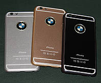 Чехол для iPhone 6 BMW металлический, фото 1