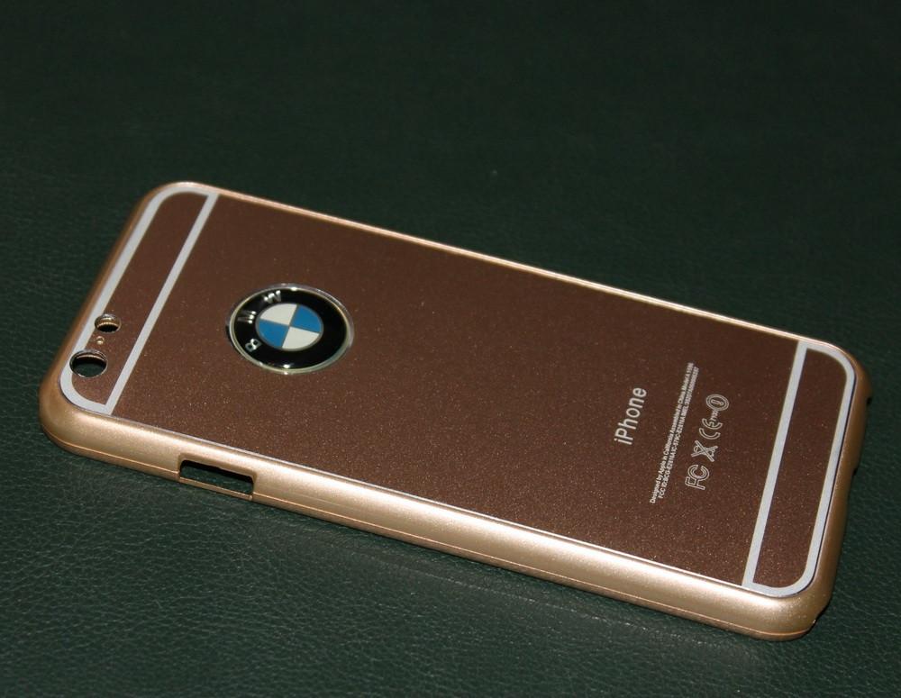 Чехол для iPhone 6 BMW металлический