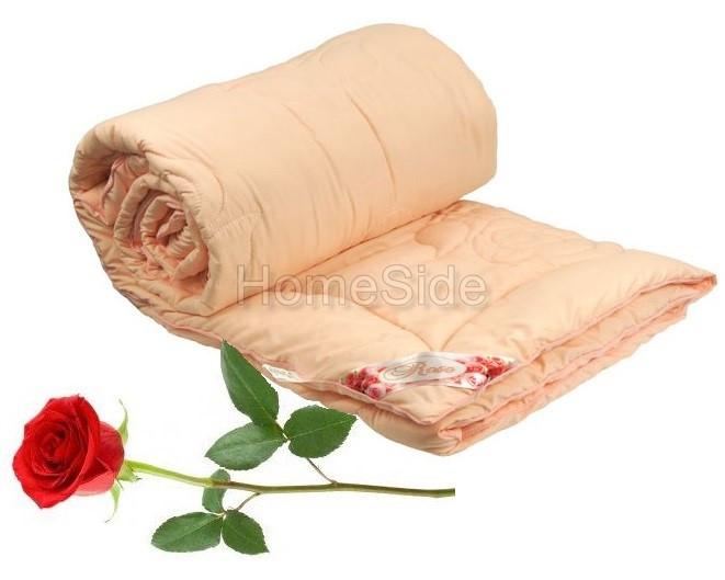 Одеяло полуторное Rose 140х205 с волокном Розы 250г/м2 Руно (321.52Rose Pink)