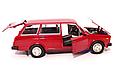 Игровая машинка металлическая Автопром модель ВАЗ 2104 1:24 свет передних и задних фар (3 цвета), фото 2