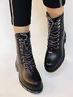 Турецкая обувь.Натуральный мех.  Женские зимние ботинки. Натуральная кожа . Trio. Р.36, 37, фото 5