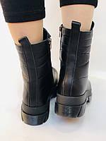 Турецкая обувь.Натуральный мех.  Женские зимние ботинки. Натуральная кожа . Trio. Р.36, 37, фото 8