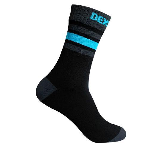 Dexshell Ultra Dri Sports Socks M водонепроникні Шкарпетки з блакитною смугою