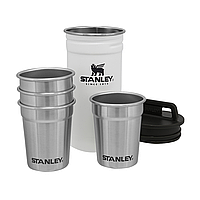 Набір Stanley Adventure Combo Polar: фляга та 4 чарки
