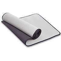Коврик для фитнеса и йоги TPE 6мм с кантом Zelart FI-1772 (1,83мx0,61мx6мм, цвета в ассортименте)
