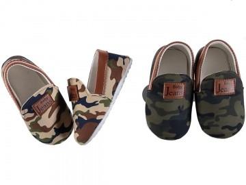 Пінетки дитячі комуфляжні туфлі