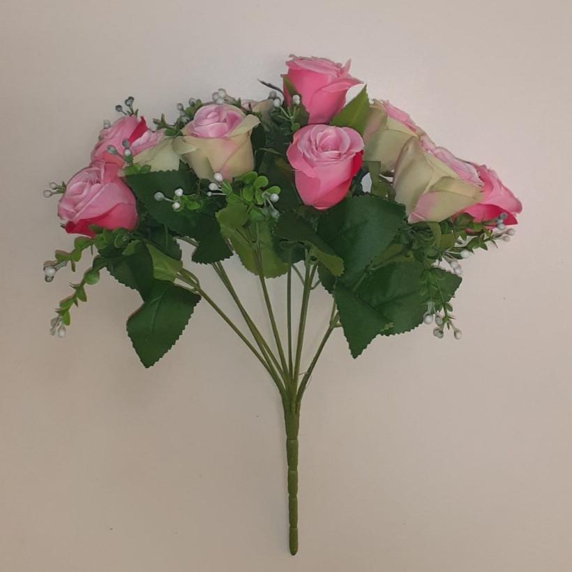 Букет штучний троянди