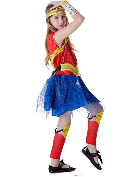 Детский карнавальный костюм принцессы Дианы для девочки.