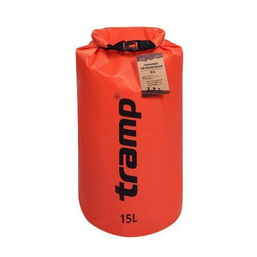 Гермомешок PVC Diamond Rip-Stop 15л Tramp TRA-112-orange