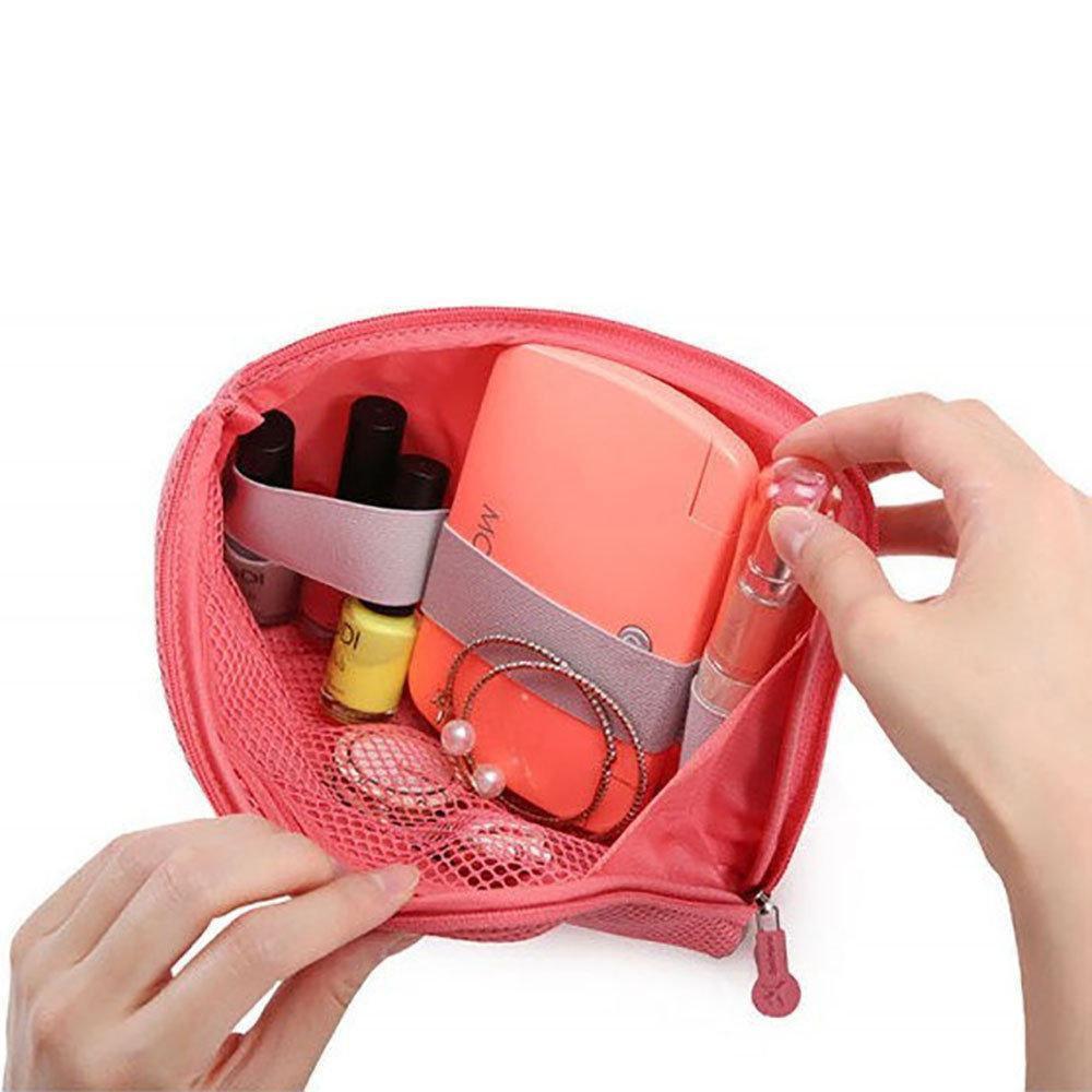 Органайзер для зарядок и прочих мелочей Cable Pouch (Розовая)