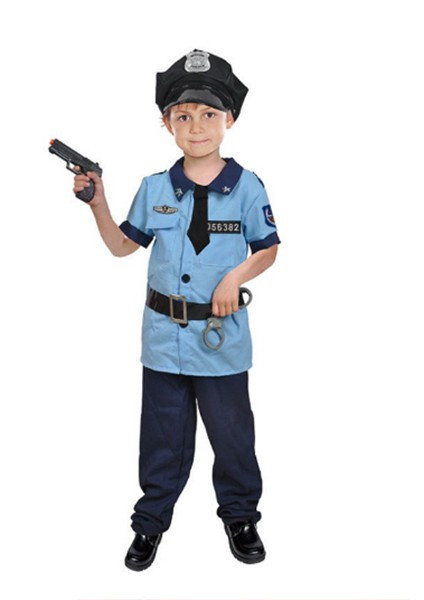 Детский карнавальный костюм Полицейского для мальчика