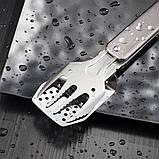 Компактний міні набір для барбекю Roxon S602B  чорний, фото 6