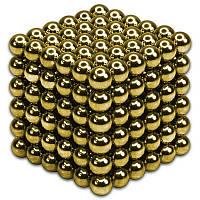 Магнитный конструктор NeoCub/Неокуб 3 мм Gold