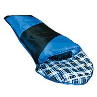 Спальний мішок Tramp NightLife індиго / чорний R TRS-046-R