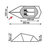 Палатка Tramp Bike 2 v2 TRT-020, фото 3