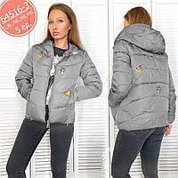 Женская куртка Размеры норма: L,XL,2XL,3XL,4XL, соот. 44-52