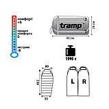Спальный мешок Tramp Siberia 5000 индиго/черный  L TRS-040-L, фото 2