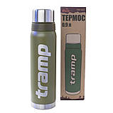 Термос 0,9 л Tramp TRC-027-olive, фото 3
