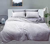 Евро комплект постельного белья зима/лето Grey, фото 1