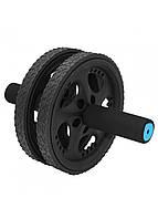 Ролик (колесо) для пресса двойной SportVida SV-HK0308